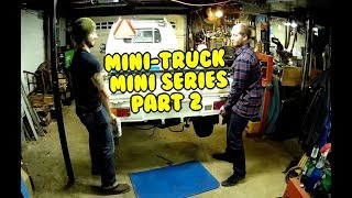 Mini Truck (SE01 EP02) info, measurements, test on road, cleaning, bed latch adjustments HiJet
