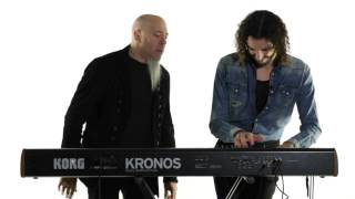 Jordan Rudess & Marco Parisi Perform on The New Kronos (Part 1)