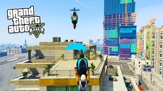 DANGEROUS BIKE PARKOUR! (GTA 5 Funny Moments)