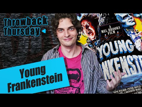 Throwback Thursday 'JOVEM FRANKENSTEIN' +Curiosidades!