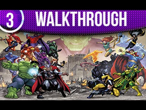 Marvel Avengers Battle For Earth Walkthrough Part 3 Xbox 360 Kinect