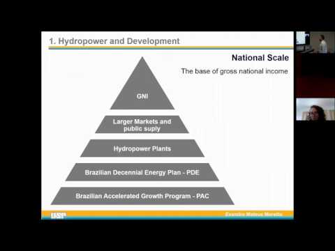 Development of Brazilian municipalities flooded by hydropower plans - Evandro Moretto