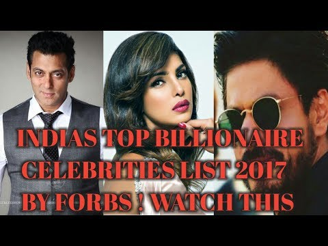 INDIA'S TOP 10 BILLIONAIRES CELEBRITY 2017 LIST ! LIST BY FORBES ! TOP RICHEST PEOPLE LIST ! LATEST.