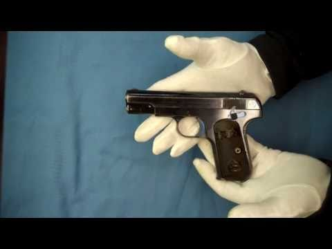Serial Number 1 Colt .380 Pocket Hammerless