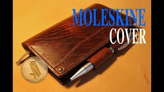 Making a Leather Moleskine Cover