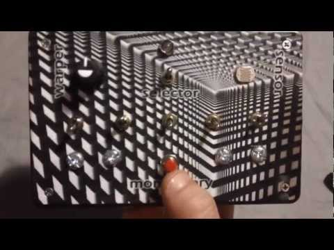 """Sonic Crusher"" built for Squarepusher - For MoogFest 2012 by Dr. Blankenstein"