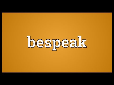 Header of bespeak