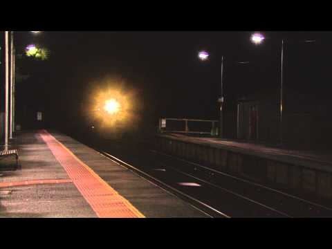 20/12/2010 - 'The Haunted Express' - B74 transfering VGR E cars through Macedon