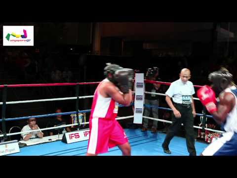 Saxo Capital Markets Asia Cup 2012: Bout 1 - BYRON BROOKS vs STEVE KIBERU