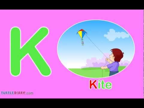 K Words For Kids Toddler Words  Words Starting