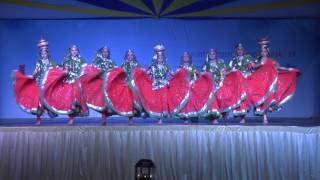 Udayin 2016- Nilgiri - Rajasthani Folk Dance CHIRMI