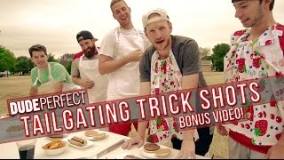 Dude Perfect: Tailgating Trick Shots BONUS Video