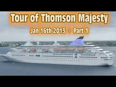 Tour of Thomson Majesty Cruise Ship (part 1)