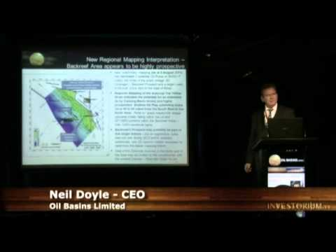 INVESTORIUM: Oil Basins Limited (ASX:OBL) Director and CEO Neil Doyle