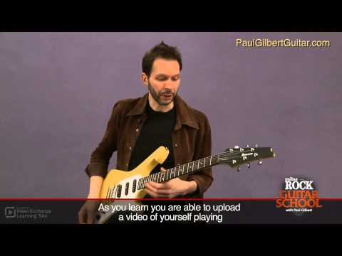 Paul Gilbert - Rock Guitar Masterclass