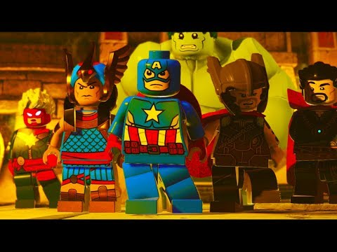LEGO Marvel Super Heroes 2 Part 17 I Sphinx We Have A Problem (Hulk, Horus, Captain America) #1