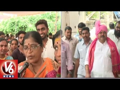 Devotees Throng To Watch Balkampet Yellamma Kalyanam | Hyderabad | V6 News