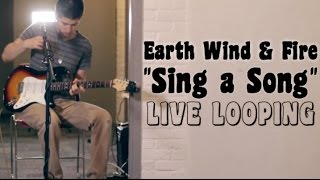 """Sing a Song"" (Loop Pedal Cover) Jacob McCaslin - Live @ Berklee College of Music"