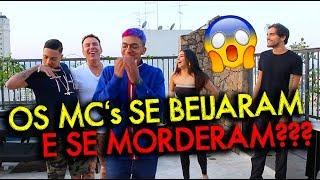 OS MC's  SE BEIJARAM E SE MORDERAM ! FEAT MC BRINQUEDO, TAINA COSTA, MC MENOR | #HottelMazzafera