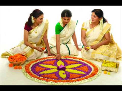 Chandana Valayitta Kai.....onam Song From Thiruvona Kaineettam video