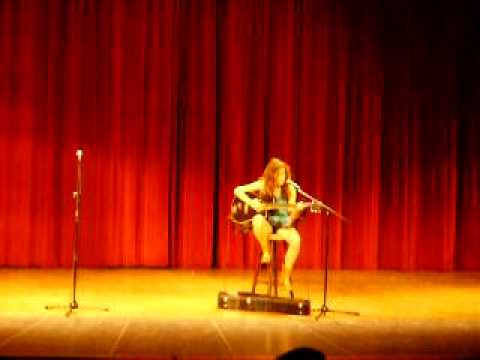 Rachael Drake singing Baby Girl in the Monocacy Middle School talent show