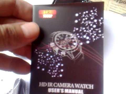 Шпионские часы  DVR с функцией ночного видения (8 Гб)