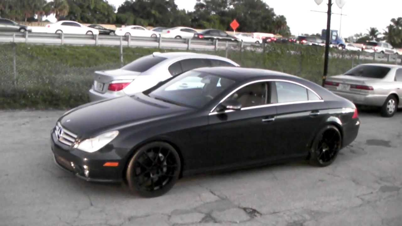 Mercedes Cls 2006 Black Wheels 2006 Mercedes Cls