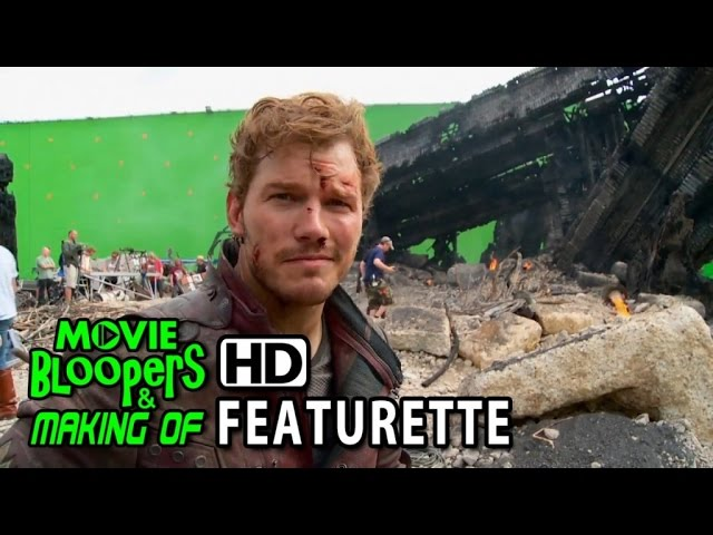 Guardians of the Galaxy (2014) Blu-ray Featurette - Chris Pratt at the Xandar Crash Site