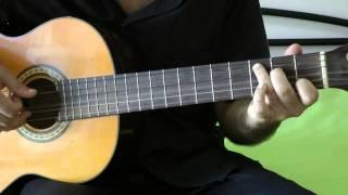 урок на гитаре красивой классической музыки очень легкий