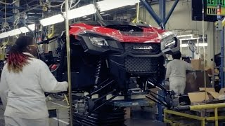 Honda FourTrax Rancher and Pioneer 1000 Production