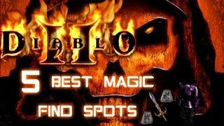Top 5 Magic Find Spots - Diablo 2