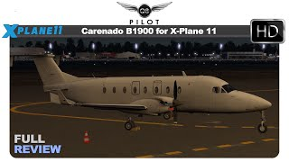 [X-Plane] Carenado B1900D for X-Plane 11 | Full Review