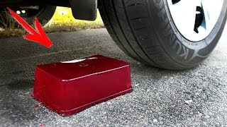 EXPERIMENT: CAR VS JELLY