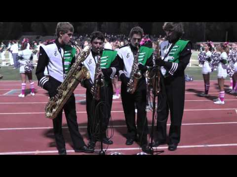 Saxy Men Play the National Anthem
