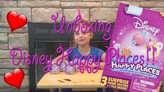 Unboxing Disney Happy Places!!!
