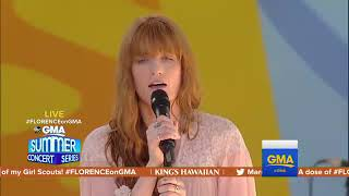 Download Lagu Florence + the Machine - Sky Full of Song (Live at GMA - Summer Concert Series 2018) Gratis STAFABAND