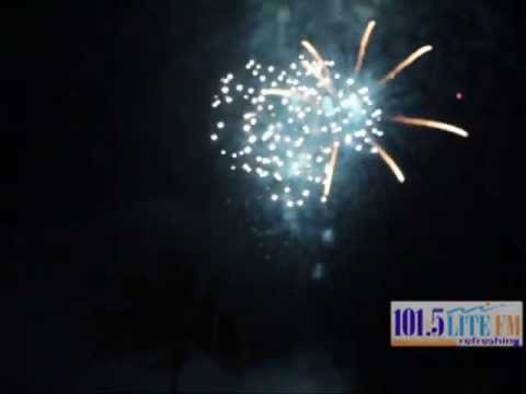 101. 5 LITE FM 4th of July Fireworks Simulcast Video On Ft Lauderdale Beach