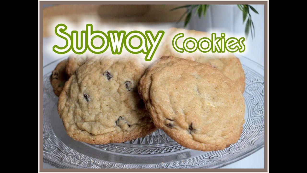 subway cookies selber machen subway cookie rezept. Black Bedroom Furniture Sets. Home Design Ideas