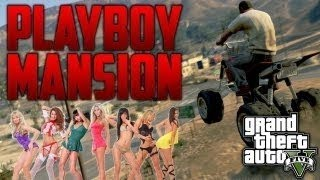 GTA 5 Playboy Mansion Location - Grand Theft Auto 5 How to Find the Playboy Mansion - TUTORIAL