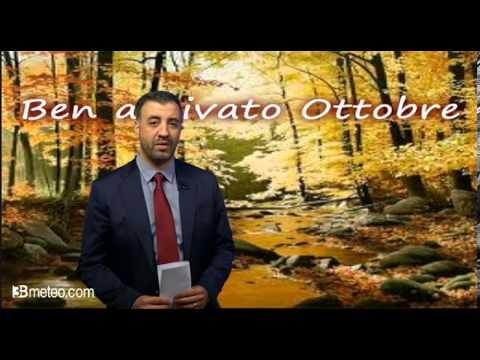 Tendenza meteo: levoluzione nella prima parte di Ottobre