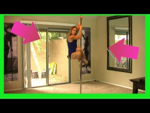 How To Pole Dance Video Lesson - *pole Dancing Classes* For Beginners* video