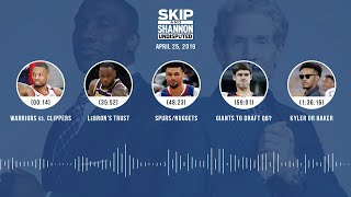 UNDISPUTED Audio Podcast (04.25.19) with Skip Bayless, Shannon Sharpe & Jenny Taft | UNDISPUTED