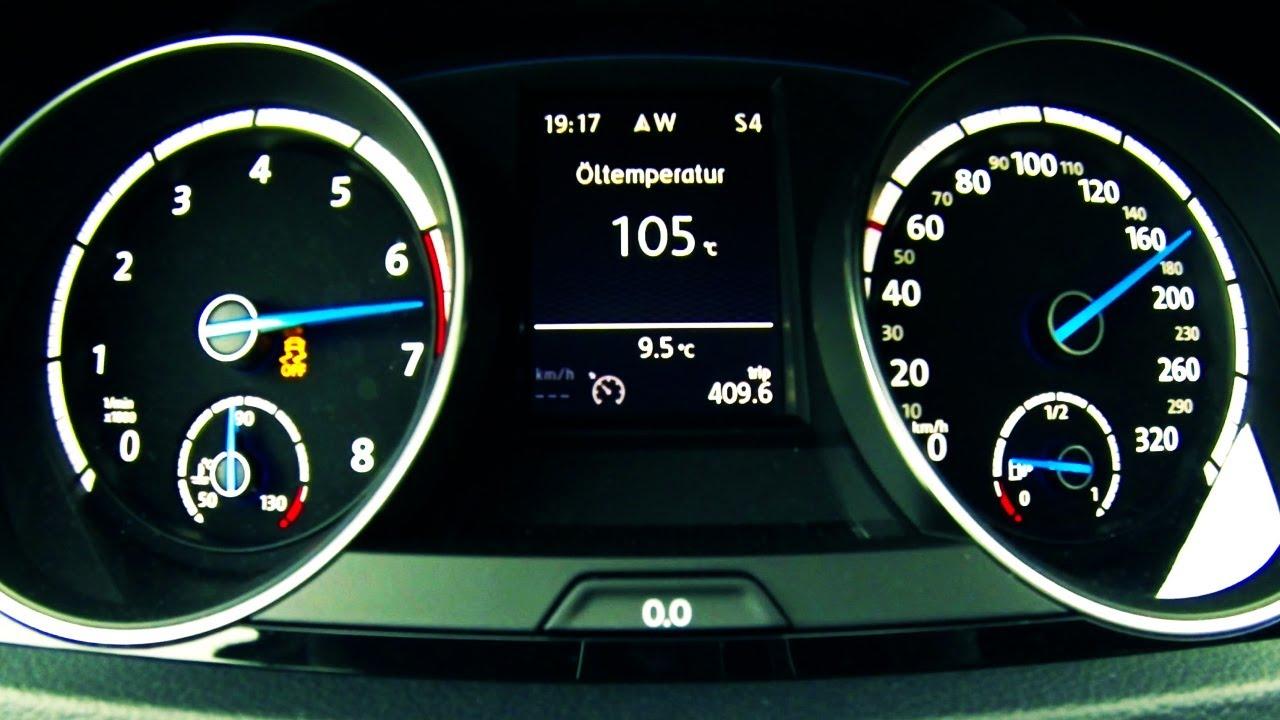 Vw Golf 7 R Acceleration 0 230 Km H Beschleunigung Autobahn Full Throttle 4 Motion Tfsi Dsg