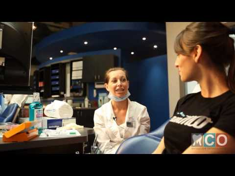 Invisalign Teen Richmond Hill-  Initial Invisalign Aligner Insertion Professional Video!