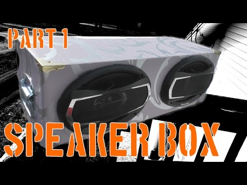 Dual 6x9 speaker box   Part 1   The Workshop