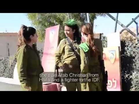 Female Arab Soldier  'I Came to Serve My Country and My Home'