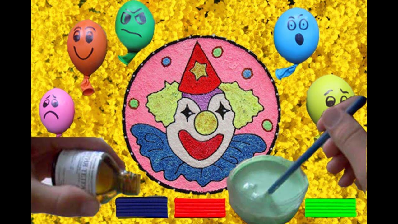 Как сделать в домашних условиях шариковый пластилин