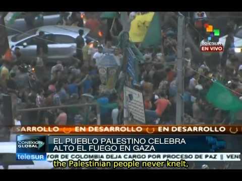 Palestine celebrates cease-fire in Gaza