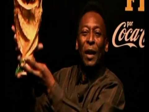 Pele shows support for Dunga