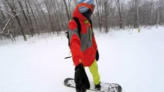 Labrador Mountain Snowboarding 4k